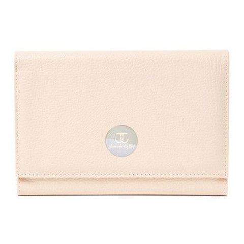 Cream Tri-Fold Travel Case - Jewels to Jet