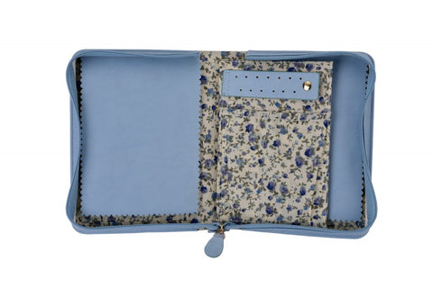 Light Blue Travel Case - Jewels to Jet