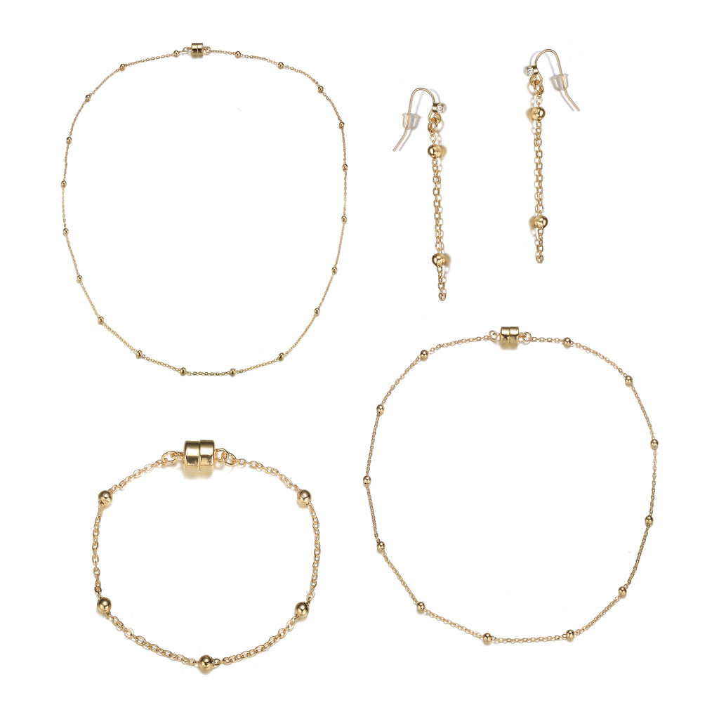 Jubilee Gold Collection-Jewels to Jet-Magnetic Clasp Jewelry
