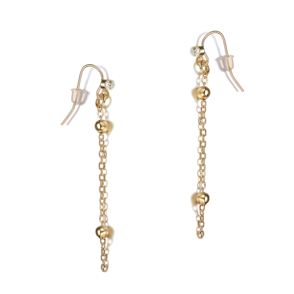Jubilee Gold Earrings-Jewels to Jet-Magnetic Clasp Jewelry