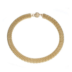 Kingston Braided Necklace: Silver or Gold