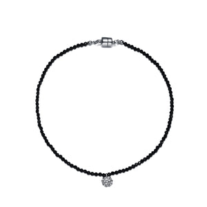 Lolita Choker plus extender-Jewels to Jet-Magnetic Clasp Jewelry