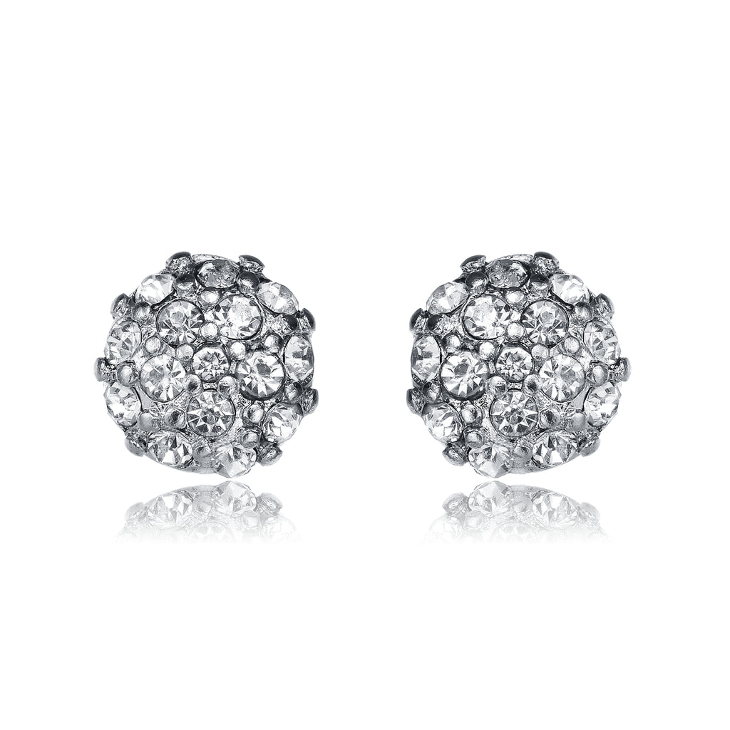 Lolita Stud Earrings-Jewels to Jet-Magnetic Clasp Jewelry