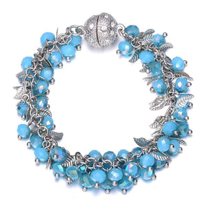 Madeira: Bracelet With Magna Clasp-Jewels to Jet-Magnetic Clasp Jewelry