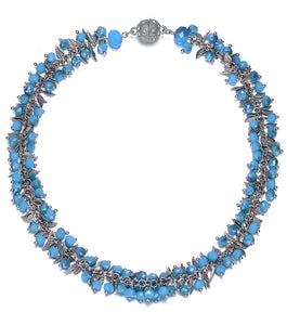 Madeira: Chunky Necklace-Jewels to Jet-Magnetic Clasp Jewelry