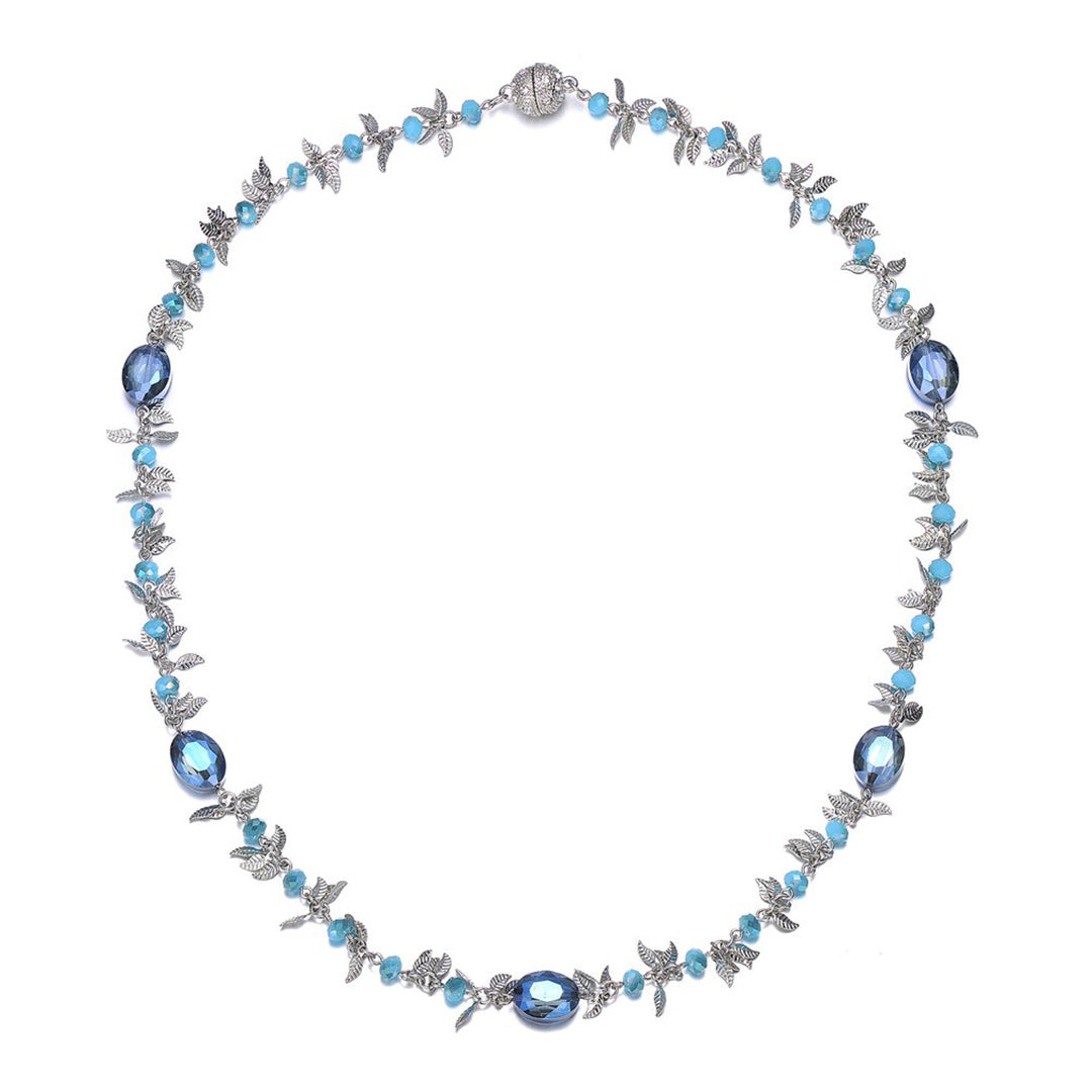 Madeira: Long Necklace With Magna Clasp-Jewels to Jet-Magnetic Clasp Jewelry