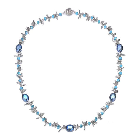 Madeira: Long Necklace With Magna Clasp - Jewels to Jet