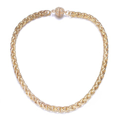 Monaco Gold Short Necklace by Jewels To Jet