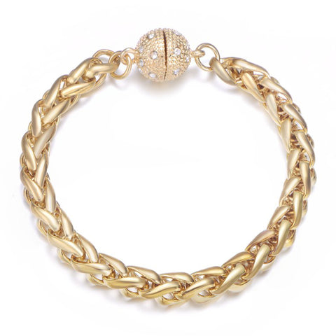 Monaco Gold Bracelet by Jewels To Jet-Jewels to Jet-Magnetic Clasp Jewelry