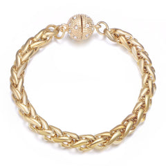 Monaco Gold Bracelet by Jewels To Jet
