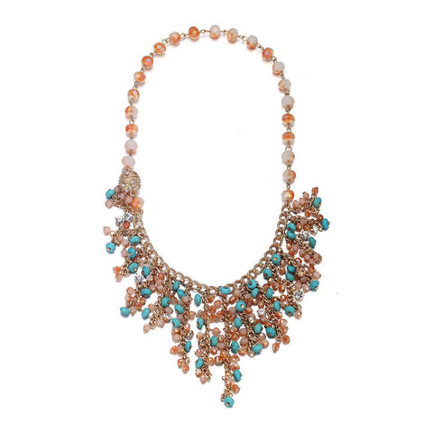Montego: Gorgeous Bohemian Necklace With Magna Clasp-Jewels to Jet-Magnetic Clasp Jewelry