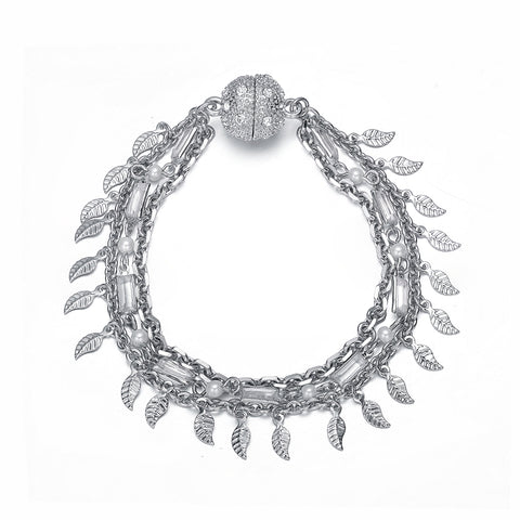Radha: Bracelet by Amrita Sen & Jewels to Jet-Jewels to Jet-Magnetic Clasp Jewelry