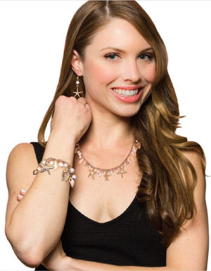Seashore: Full Set Jewelry Collection Silver or Gold-Jewels to Jet-Magnetic Clasp Jewelry