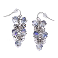 St. Tropez: Silver Dangling Earrings