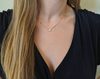 Allure: Short Simple Gold Necklace-Jewels to Jet-Magnetic Clasp Jewelry