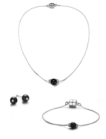 Victoria Full Set Jewelry Collection-Jewels to Jet-Magnetic Clasp Jewelry