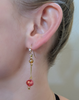 Bellissima: Dangle Earrings-Jewels to Jet-Magnetic Clasp Jewelry