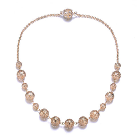 Ceremony Long Necklace By Amrita Sen - Jewels to Jet