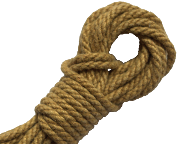 Spot of Delight Hemp 6 mm Rope - Gold / 15 ft Rope - Spot of Delight - 10