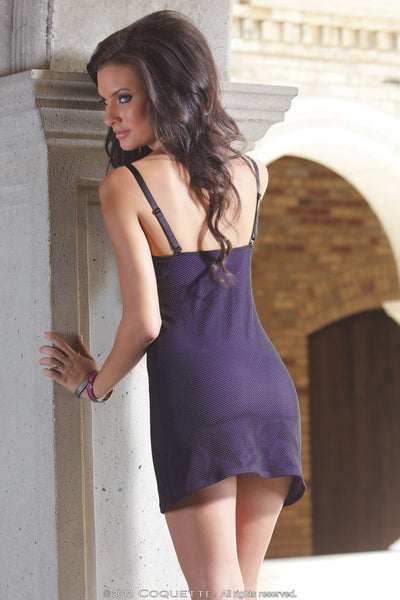 Coquette Purple Dress -  Club Wear - Spot of Delight - 3