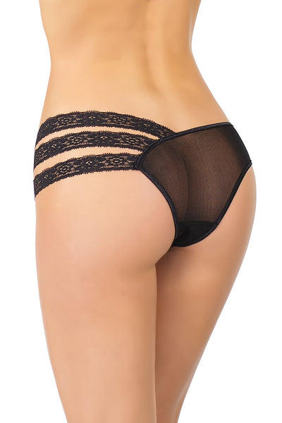 Asymmetrical Lace Panties