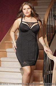 Molded Underwire Push-Up Chemise