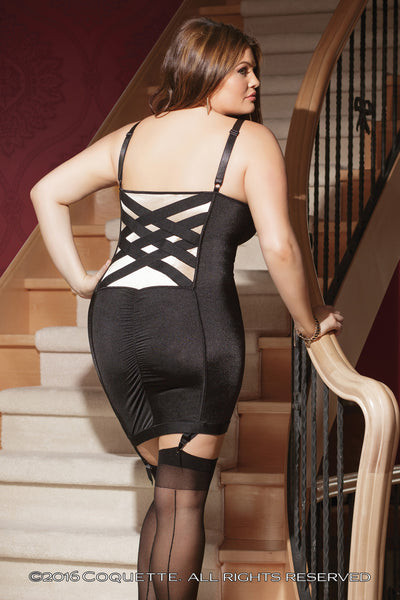 Coquette Basket Weave Dress -  Club Wear - Spot of Delight - 4