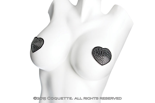 Coquette Rhinestone Pasties -  Lingerie Accessories - Spot of Delight - 2