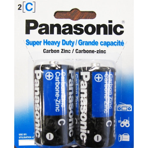 Panasonic C Batteries (2 PK) -  Batteries - Spot of Delight