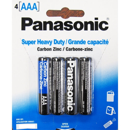 Panasonic AAA Batteries (4 PK) -  Batteries - Spot of Delight