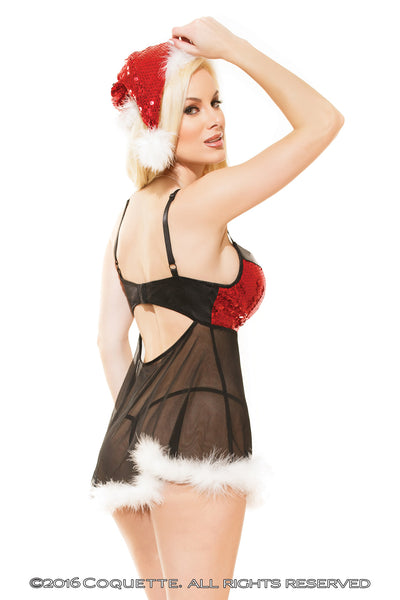 Coquette Santa Hat -  Holidays - Spot of Delight - 2