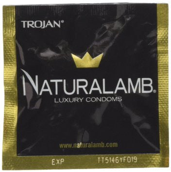 Trojan NaturaLamb - 1 PK Condoms - Spot of Delight - 2