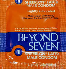 Okamoto Beyond Seven Sheerlon - 1 Condoms - Spot of Delight - 2