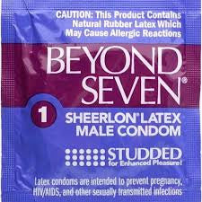 Okamoto Beyond Seven Studded - 1 Condoms - Spot of Delight - 2