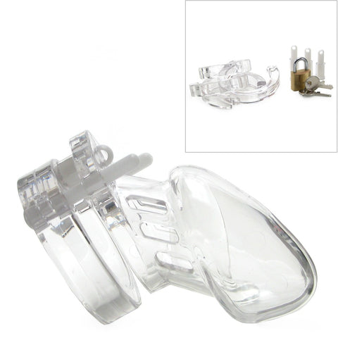 CB 6000S  Male Chastity- Clear