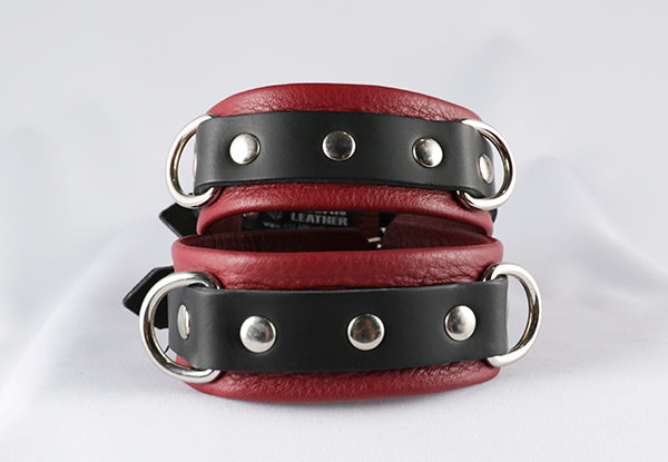 Cherry Kink Ankle Cuffs