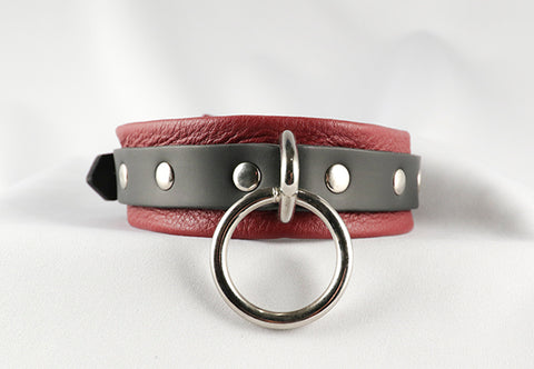 Cherry Kink Collar (Pre Order in March, Ships in April)