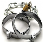 E.D. Luxury Dungeon Irons -  Wrist Cuffs - Spot of Delight