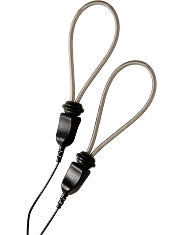 ElectraStim ElectraLoops Metallic Adjustable Cock Loops (2) -  Estim Attachments - Spot of Delight - 1
