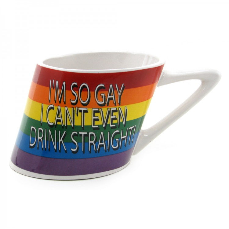 Pride Gaysentials I'm So Gay I Can't Even Drink Straight Coffee Mug -  Novelty - Spot of Delight