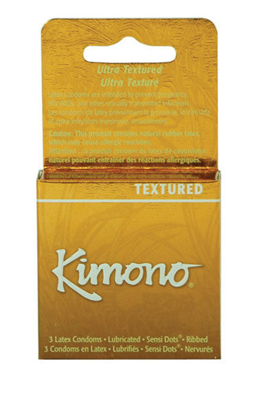 Kimono MicroThin Textured -  Condoms - Spot of Delight - 3