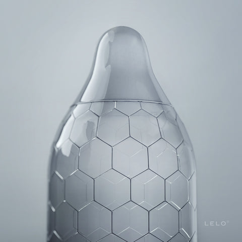 LELO Hex Condom -  Condoms - Spot of Delight - 1