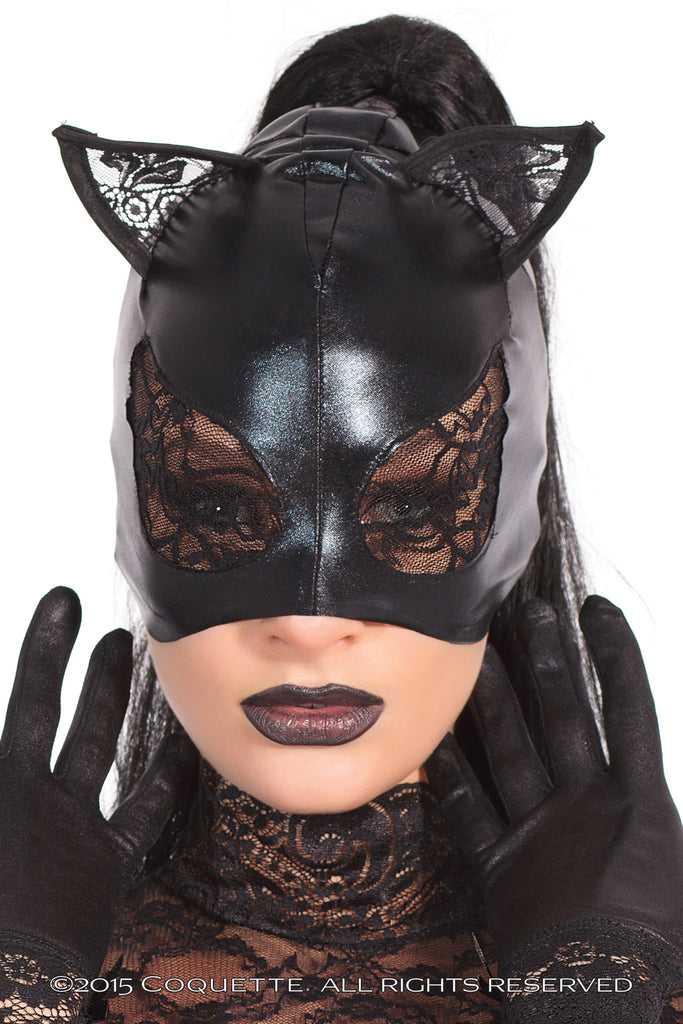 Coquette Cat Mask -  Costumes - Spot of Delight - 1