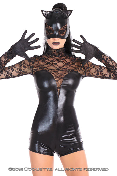 Coquette Cat Mask -  Costumes - Spot of Delight - 3