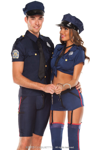 Coquette Police Officer -  Halloween - Spot of Delight - 3