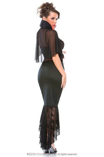 Coquette Voluptuous Vampire -  Halloween - Spot of Delight - 3