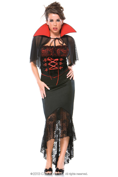 Coquette Voluptuous Vampire -  Halloween - Spot of Delight - 4