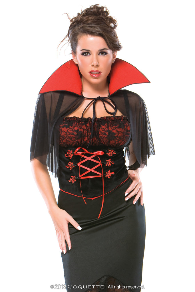 Coquette Voluptuous Vampire -  Halloween - Spot of Delight - 1