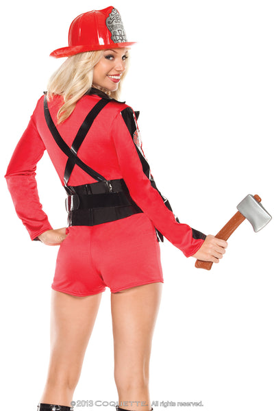 Coquette Foxy Firefighter -  Halloween - Spot of Delight - 4