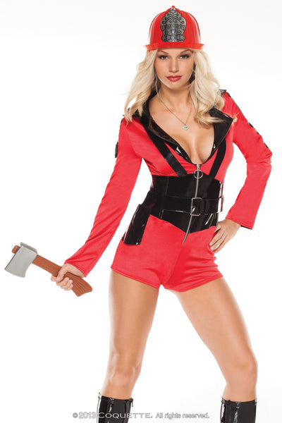 Coquette Foxy Firefighter -  Halloween - Spot of Delight - 3